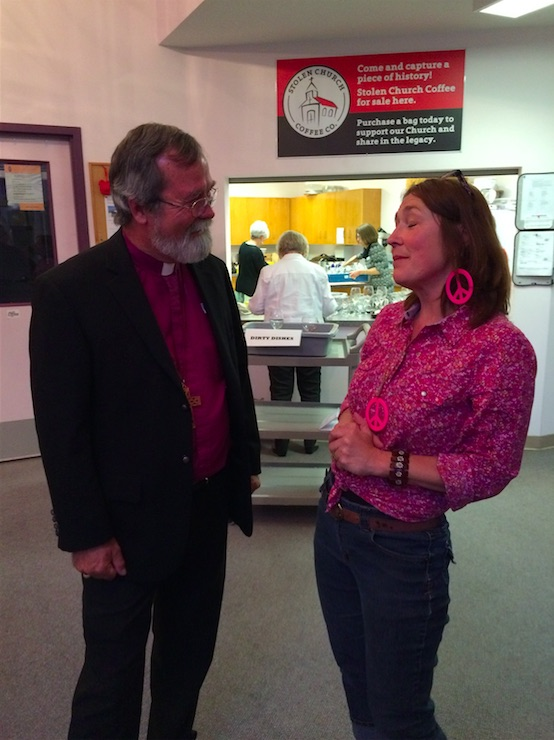 Bishop John and Brenda Danyluk talk Peace & Freedom