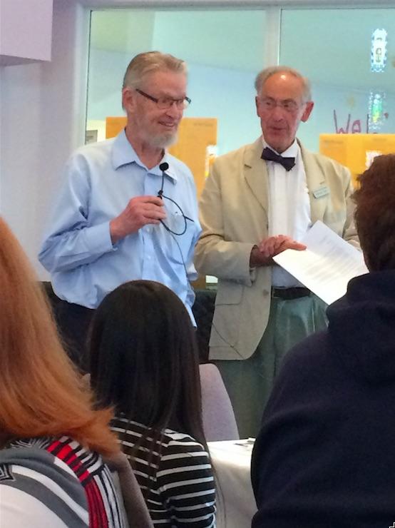 Rev. Harry Costerton and Sebastian Bell